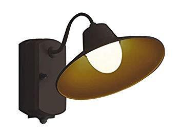 コイズミ照明 照明器具アウトドアライト LEDポーチ灯 人感センサ付マルチタイプ白熱球60W相当 電球色 非調光AU42251Lの写真