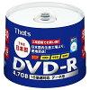 THATS1-16倍速対応 データ用DVD-Rメディア 4.7GB・50枚 DR-47BKWPY50BN DR47BKWPY50BN