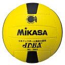 MIKASA ミカサ ドッジボール 2号 MGDB2J 黄/黒