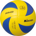 MIKASA ミカサ バレーボール 練習球4号 黄/青 MVA430
