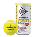 DUNLOP ダンロップ FORT(フォート) テニスボール 2個入