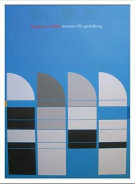 Bauhaus バウハウス Weimar Ausstellung 1923 IBH70047 額付グラフィックアートポスター通販の写真