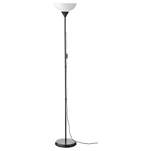 IKEA ノート NOT フロアアップライト ブラック/ホワイト30139878