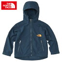 THE NORTH FACE キッズ コンパクトジャケット Kid's Compact Jacket ナイロンジャケット ウインドブレーカー 子供服 NPJ71604 コズミックブルー2画像