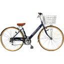 サイモト 27型 自転車 ダカラットクルーズ ネイビー/6段変速 LFV276HDBAA_16