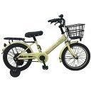 サイモト自転車 16型 幼児用自転車 ダカラットココキッズ アイボリー/シングルシフト