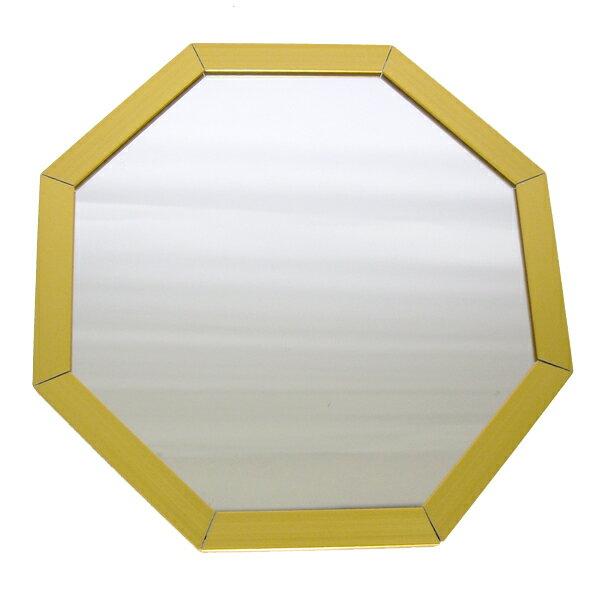 Octam(オクタム) 八角形 スタンド/ウォールミラー OCM-15 - SSサイズ GD(ゴールド)
