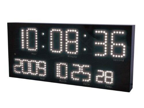 LED-101WH 誠時 電波置掛兼用時計 ホワイト LEDアクラート LED101WH