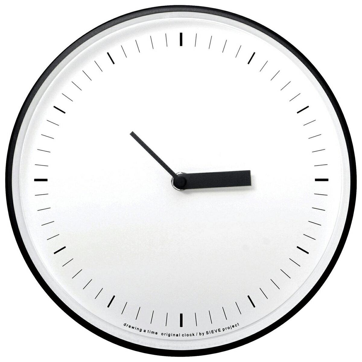 SIEVE width シーヴ ワイズ 壁掛け時計 卓上用スタンド付きの写真