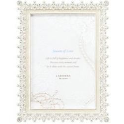 ラドンナ ブライダルフレーム L判 ホワイト MJ83-L-WH(1コ入)の写真
