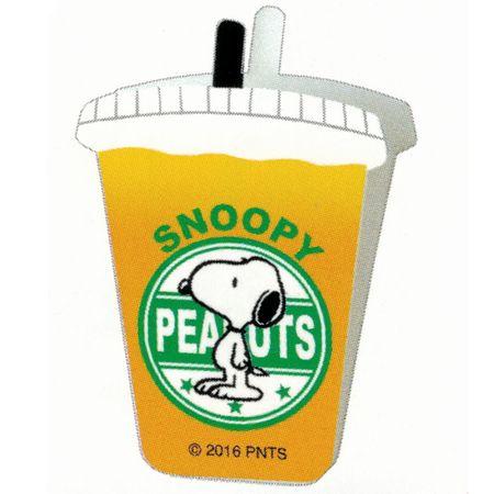 クラックス スヌーピー カフェクリップ ドリンク型 オレンジジュース スヌーピー46849
