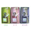 芳香剤 アロマスティック RL2265 ローズ・ラベンダー・バニラ  80ml (D)画像
