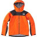 ノースフェイス THE NORTH FACE メンズ アウター クライム ライト ジャケット Climb Light Jacket PO/ペルシャンオレンジ×ブラック NP11503画像