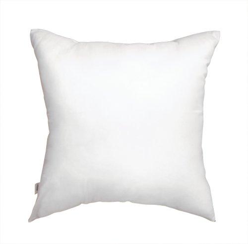 日本製ヌードクッション 中綿:帝人クリスター使用 角型45x45cmカバー用 背当てタイプ