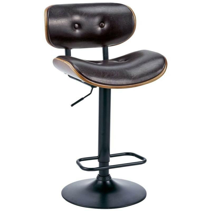 カウンター チェア バーチェアレザー 椅子 イス シック 高さ調整 KNC-G66