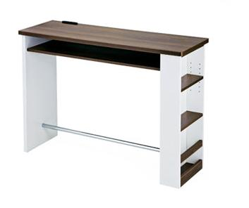 ハイテーブル カウンターテーブル 幅  knt-1200の写真