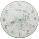 Moomin timepieces ムーミンタイムピーシーズ  ムーミン Wall Clock Little My Chasing MTP030010
