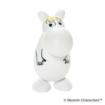 ムーミン moomin 木製 ミニフィギュア / フローレン PUULELUT プの写真