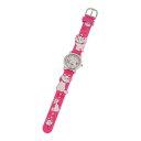 ディズニー Disney おしゃれキャット マリー 人気キャラクター腕時計 ピンク WD-S01-MA