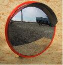 家庭用ステンレスミラ-丸型 300Φ 支柱取付金具付き画像