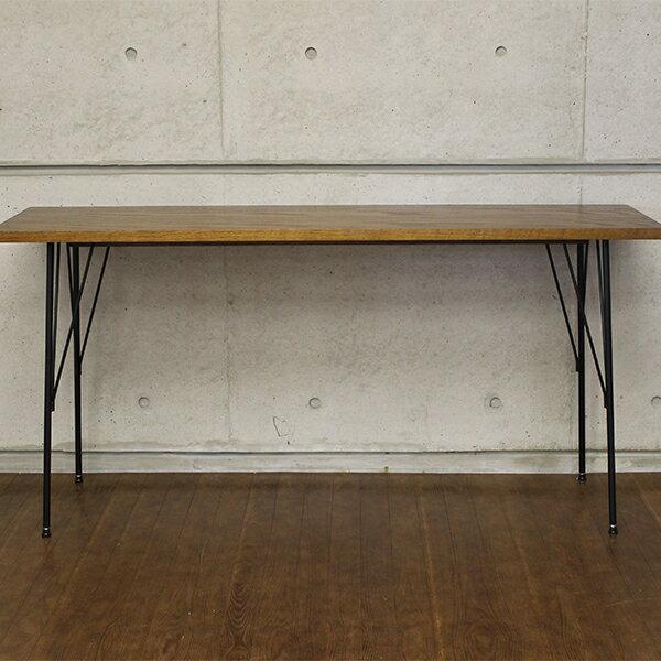 at-1540 br brno work table-150 ブルノ ワークテーブル  幅 ブラウンの写真