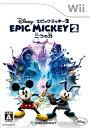 ディズニー エピックミッキー2:二つの力/Wii//A 全年齢対象 スパイク・チュンソフト RVLPSERJ
