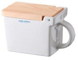 ZEROJAPAN/ゼロジャパン キッチンコンテナ ホワイト BST-17・WH 保存容器 調味料入れ 蔵元屋