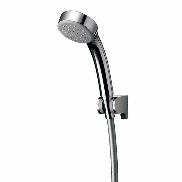 エアインシャワー シャワーヘッド 1.6mホースセット めっき THYC60CH(1セット)