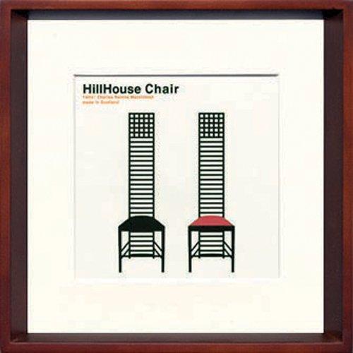 jig アートポスター modern design studio モダン デザインスタジオ hillhouse chair ヒルハウス ity-14050の写真