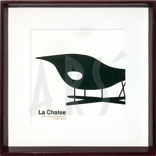 絵 アートパネル 壁掛け 専門店アートフレーム/アートポスター チャールズレイイームズラシェーズの写真