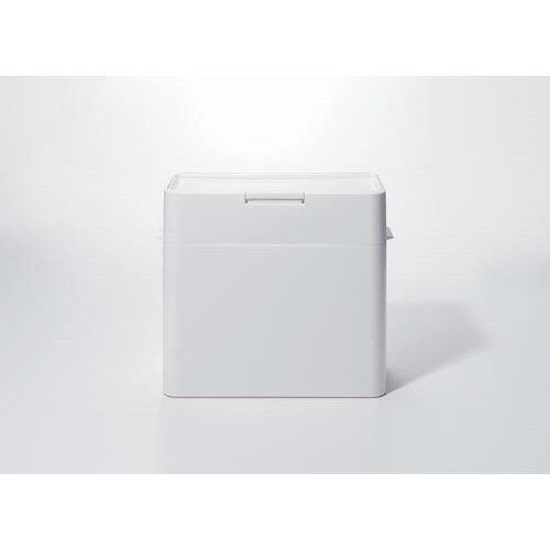 Like-it ゴミ箱シールズ9.5 密閉ダストボックス ホワイト LBD-01