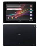 SONY/ソニー Android OS 10.1型タブレット Xperia Tablet Zシリーズ docomo SO-03E BK ブラック