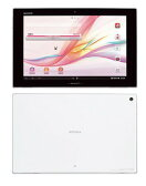 SONY/ソニー Android OS 10.1型タブレット Xperia Tablet Zシリーズ docomo SO-03E WH ホワイト