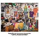 LOVE,PEACE & FIRE/CD/WPCL-12621