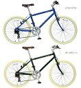 WACHSEN 24型 クロスバイク Hagen ブルー/400サイズ BR-24A-BL