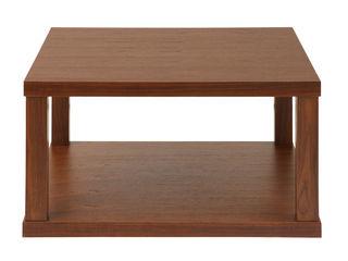 あずま工芸 センターテーブル エピソード 70cm幅 ブラウン色 WLT-2120の写真