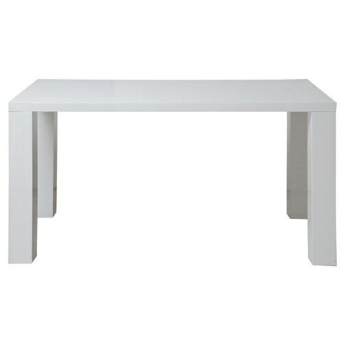 幅1400ミリ ダイニングテーブル Bianco ビアンコ TDT-1311 ホワイト