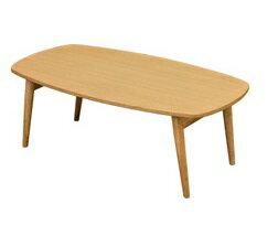 テーブル 一人暮らし ローテーブル おしゃれ 折りたたみ テーブル センターテーブル 幅90cm ナチュラルの写真