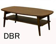 TRIM 棚付折れ脚ローテーブル 90x50 木製ローテーブル リビングテーブル 座卓の写真