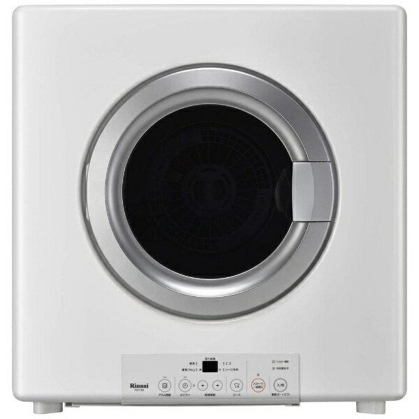 リンナイ 家庭用ガス衣類乾燥機 RDT-80_13A ピュアホワイト 乾燥容量8.0kg