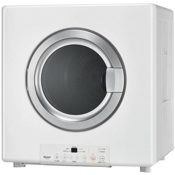 リンナイ 家庭用ガス衣類乾燥機 RDT-80_LP ピュアホワイト 乾燥容量8.0kgの写真