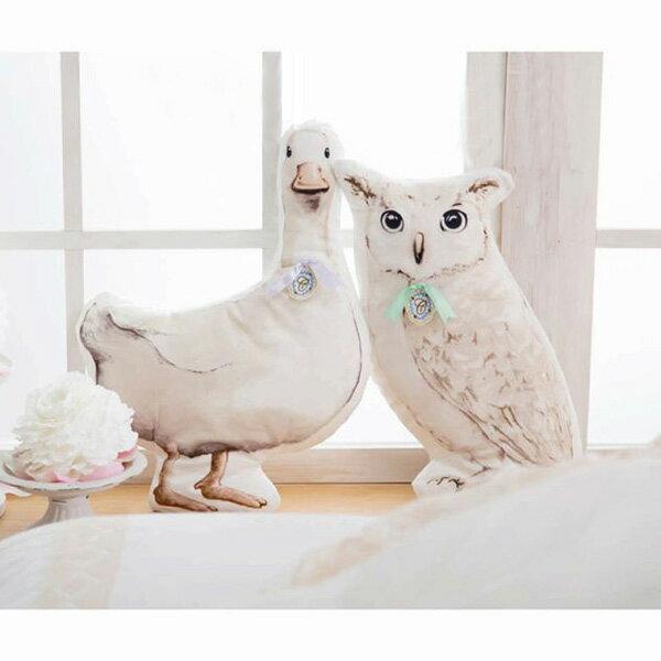 HUG ME ANIMAL クッション ダイカットクッション アヒル キシマ 動物モチーフ 生活雑貨 おしゃれインテリア シネマコレクション