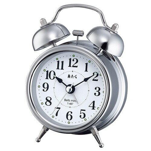 目覚まし時計 マグ ベルズミニ T-487 S-Z(1台)