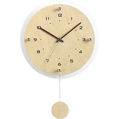 電波振り子時計 アンティール W-473 N(1台)