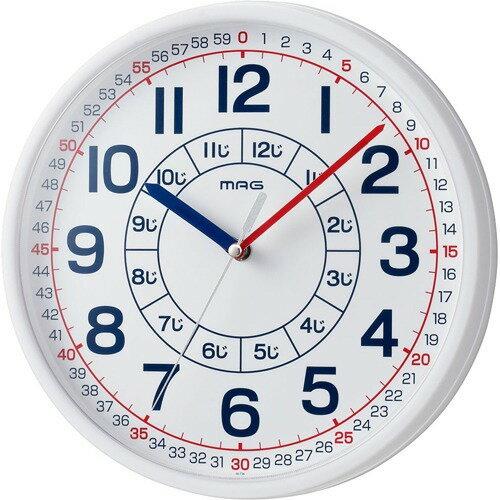 マグ 知育時計 よ~める W-736 WH-Z(1台)の写真