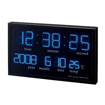 LED デジタル掛時計 1個の写真