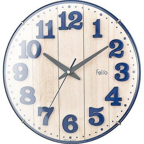 掛け時計 ブリュレ FEW181 NB-Z(1台)