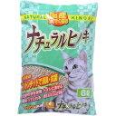 常陸化工 ヒノキの猫砂 ナチュラルヒノキ 6L