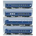 鉄道模型 カトー KATO HO 3-504 20系特急形寝台客車 4両基本セット 3-504 20ケイ4リヨウキホンセツト