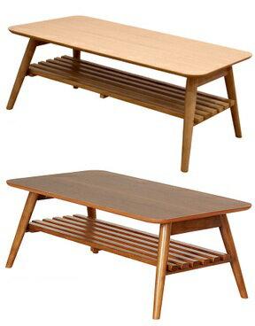 折りたたみテーブル ノチェロ NOCELLO 棚付き 幅90の写真
